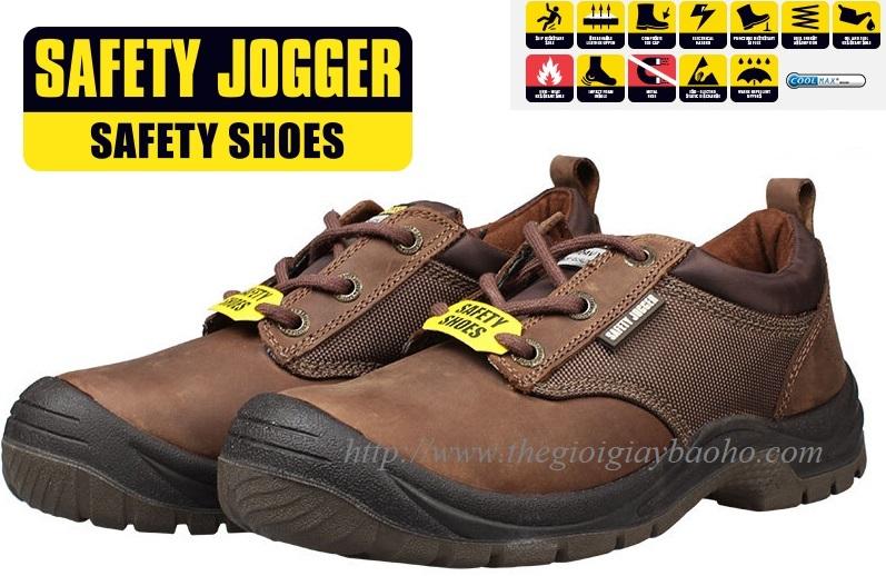 Giày bảo hộ lao động Safety Jogger Sahara