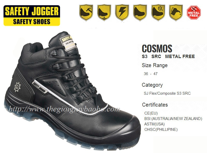 Giày bảo hộJogger Cosmos S3