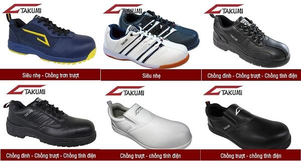 Giày Bảo Hộ lao động Takumi